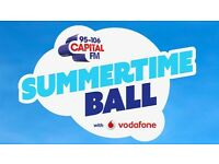 2 Standing tickets to Capital FM Summertime Ball 2017
