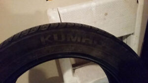 4 All Season tires P215/55R17 Kumho (price reduced)