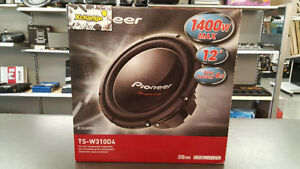 Subwoofer Pioneer 12pouce 1400Watts 4ohm ( 4023322)