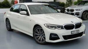 2019 BMW 3 Series White Sports Automatic Sedan Sylvania Sutherland Area Preview