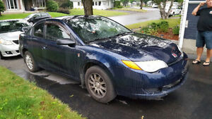2007 Saturn ION QUAD Coupé 1600 (négociable)