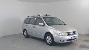 2006 Kia Grand Carnival VQ (EX) Clear Silver 5 Speed Automatic Wagon Perth Airport Belmont Area Preview