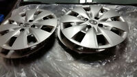 HUBCAPS 4 Bolt for Toyota Corola.