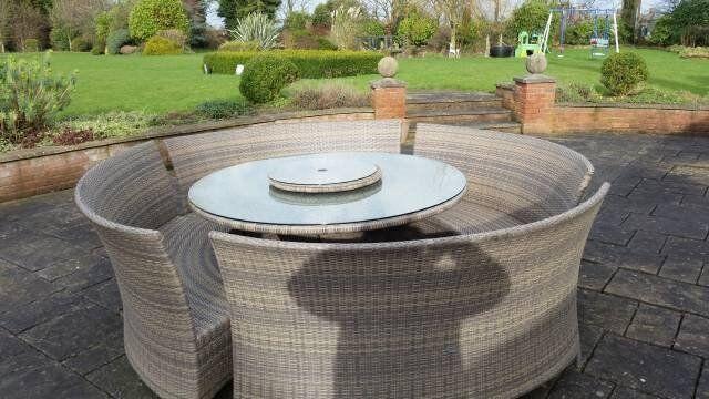 Garden Furniture Gumtree rattan outside large garden furniture (manufacturedpagoda