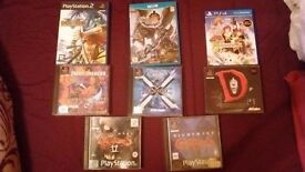 Various Games, Some Rare