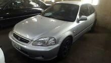 1999 Honda Civic GLi Silver 4 Speed Automatic Hatchback Georgetown Newcastle Area Preview