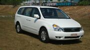 2013 Kia Grand Carnival VQ MY13 S White 6 Speed Sports Automatic Wagon Winnellie Darwin City Preview