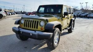 2007 Jeep Wrangler UNLIMITED SPORT 4X4 Accident Free,  A/C,  Acc