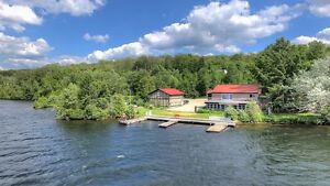 WATERFRONT REAL ESTATE INVESTMENT ON PAUDASH LAKE
