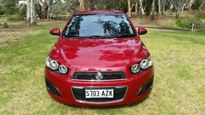 2013 Holden Barina TM MY13 CD Red 6 Speed Automatic Hatchback Tanunda Barossa Area Preview