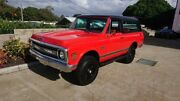 1970 Chevrolet Blazer K5 CST Red & Black 3 Speed Automatic 4x4 Wagon Capalaba Brisbane South East Preview