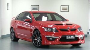 2012 Holden Special Vehicles Clubsport E Series 3 MY12 R8 Sting Red Auto Sports Mode Sedan Artarmon Willoughby Area Preview