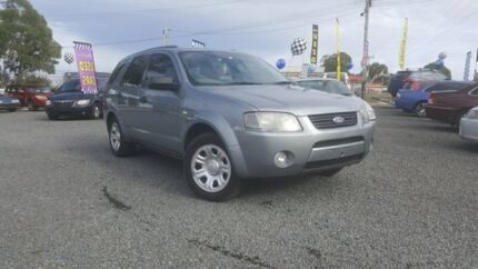 2006 Ford Territory SY TX Grey 4 Speed Sports Automatic Wagon Kingston Logan Area Preview