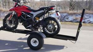 Trailer-In-A-Bag by Stinger Made In Canada HD Motorcycle Trailer