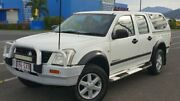 2003 Holden Rodeo RA LX Crew Cab White 5 Speed Manual Utility Bungalow Cairns City Preview