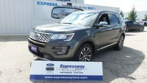 2017 Ford Explorer Platinum AWD 3.5L Eco LOADED