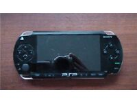 Sony PSP 1000 Video Game Console + Games + Charger + 16GB Memory Stick Card
