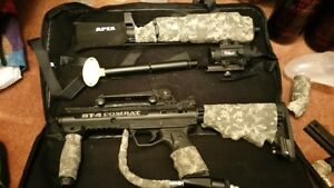Paintball set - BT 4 Combat with APEX barrel