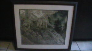 Rod Frederick Timberwolf Print Kitchener / Waterloo Kitchener Area image 2