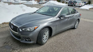 2015 Infiniti Q50 AWD lease transfer/transfert de location
