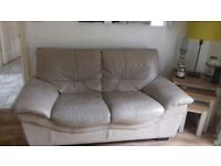 Leather sofa delivery available