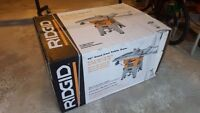 Ridgid R4512 Table Saw Brand New in box