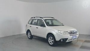 2011 Subaru Forester MY11 X White 4 Speed Auto Elec Sportshift Wagon Perth Airport Belmont Area Preview