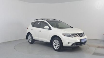 2012 Nissan Murano Z51 MY12 TI Ivory Pearl 6 Speed Continuous Variable Wagon Perth Airport Belmont Area Preview