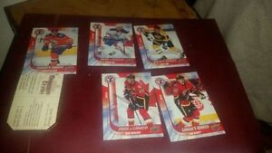 Connor Mcdavid and other hockey cards trade for video game(s)