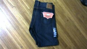 Mens Levi Strauss 501 Button Fly Jeans Size 34X30&34X32[new].