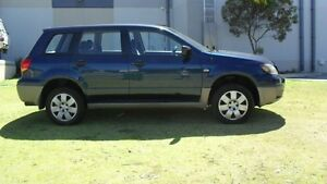 2003 Mitsubishi Outlander ZE LS 4 Speed Sports Automatic Wagon Silver Sands Mandurah Area Preview