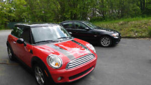 2007 Red and Black MINI Cooper a vendre/ for sale