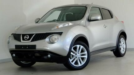 2014 Nissan Juke F15 MY14 ST 2WD Silver 1 Speed Constant Variable Hatchback Hobart CBD Hobart City Preview