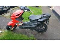Yamaha aerox 100cc cash or swaps for car or motorbike