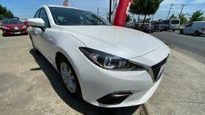2016 Mazda 3 BM5478 Neo SKYACTIV-Drive White 6 Speed Sports Automatic Hatchback Maidstone Maribyrnong Area Preview
