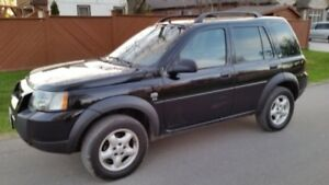 2004 Land Rover Freelander As Is