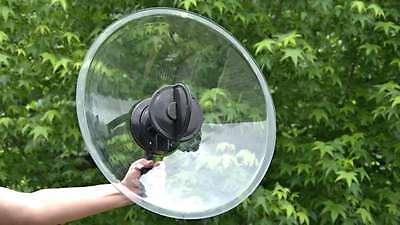Amplified Mono Parabolic Microphone