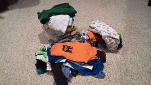 3- 6 month boys clothing lot 60 pieces
