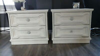 Charming french country matching bedside tables