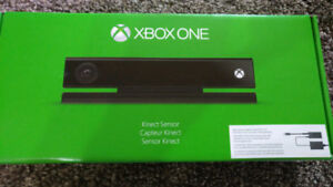 XBOX ONE KINECT SENSOR and KINECT ADAPTER brand new never opened