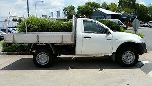 2014 Mitsubishi Triton MN MY15 GL White 5 Speed Manual Cab Chassis Acacia Ridge Brisbane South West Preview