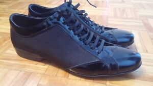 Never used black stylish shoes-reduced price