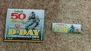 Labatt Beer labels blue jays knights JLC RCAF D-DAY London Ontario image 7