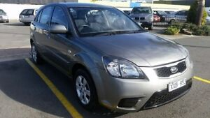 2010 Kia Rio JB MY11 S Grey 5 Speed Manual Hatchback Cheltenham Kingston Area Preview