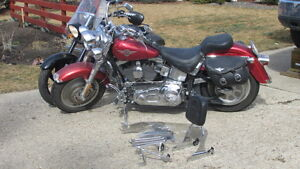 2004 Harley Fatboy and 2008 Victory Kingpin 8Ball