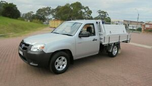 2010 Mazda BT-50 09 Upgrade Boss B2500 DX Silver 5 Speed Manual Cab Chassis Condell Park Bankstown Area Preview