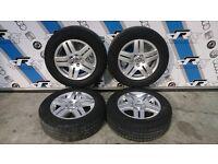 4x VW Golf MK4/Bora Alloys with 195/65 R15 tyres