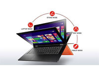 Lenovo YOGA 2, 13.3'', Laptop/Tablet Touchscreen LED HD, i5, SSD 128GB+8G, 4GB