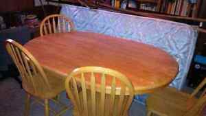 Oval Kitchen Table 4 Chairs
