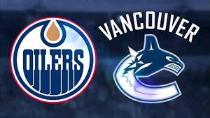 Oilers vs Canucks WAY Below Face Value Sunday April 9